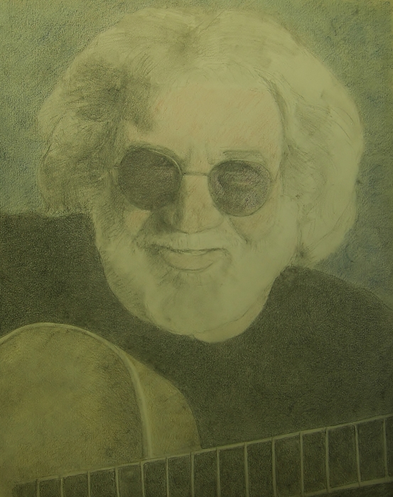 Jerry Garcia by sketch1961
